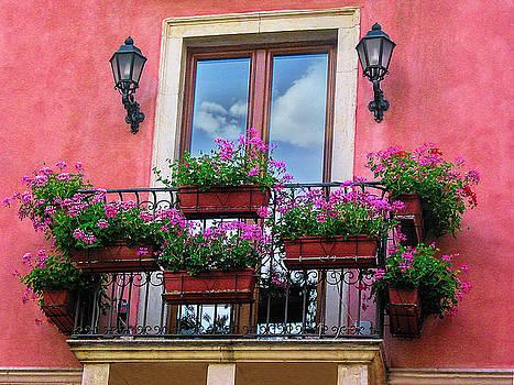 Window in Sicily by Andrew Soundarajan