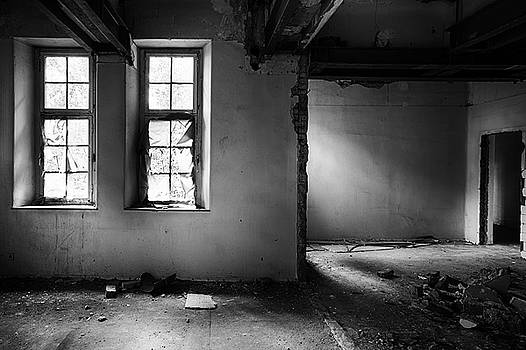Window Light - Abandoned School Building by Dirk Ercken