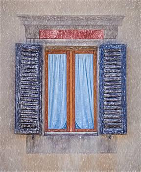 David Letts - Window Sketch of Tuscany