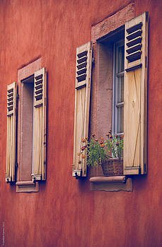 Windows of Europe by Debbie Karnes