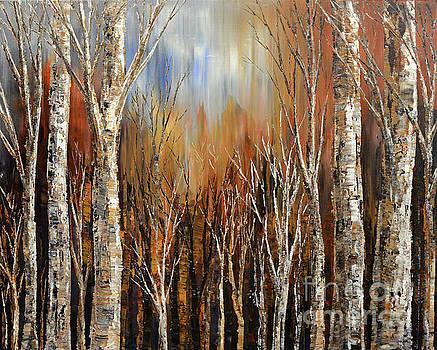 Winds of Autumn by Tatiana Iliina