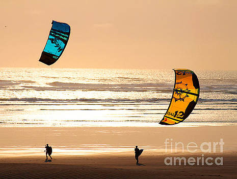 Windsurfers by Dawn Kori Snyder