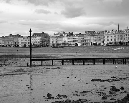Chris Smith - Windswept Llandudno Beach in Wales