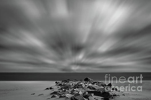 Windy Beach Landscape Photo by Melissa Fague