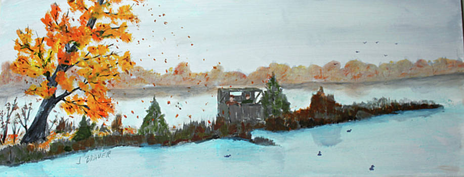 Windy Point Duck Blind by Jack G Brauer