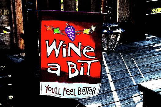Wine a Bit by Anne Mott