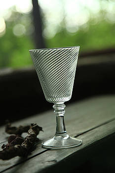 Wine glass by Jouko Mikkola