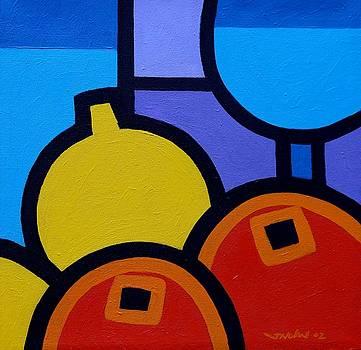 Wine Lemons Oranges by John  Nolan