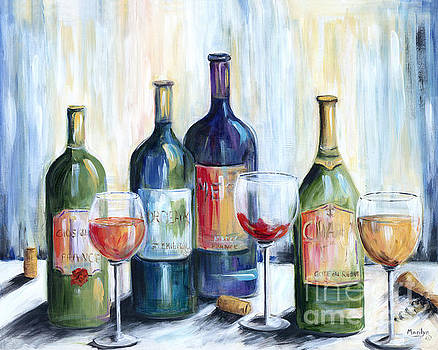 Wine Time by Marilyn Dunlap