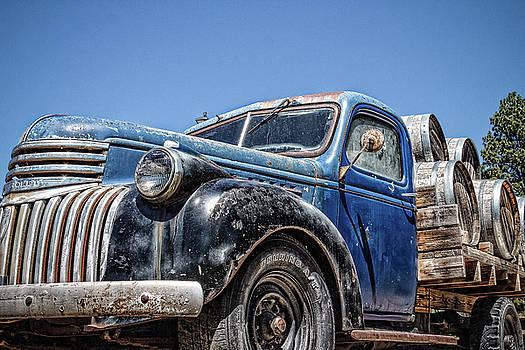 Wine Truck by Steven Bateson