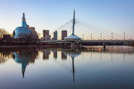 Winnipeg Reflections by Steve Boyko