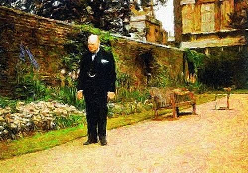 Winston Churchill, 1943 by Vincent Monozlay