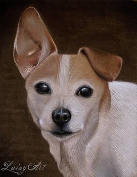 Winston Portrait by Alaina Ferguson