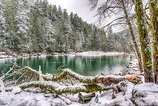 Winter at Eagle Creek by Spencer McDonald