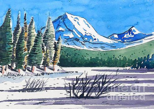Winter At Mt. Lassen by Terry Banderas