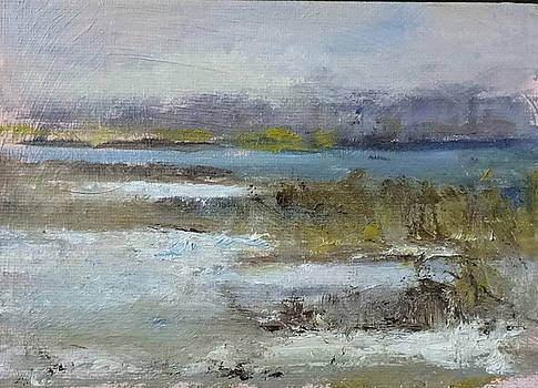 Winter at Short Beach by Joan Sicignano