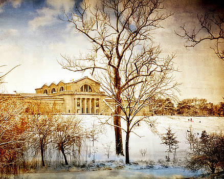 Winter At The Art Museum by Marty Koch
