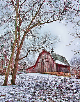 Winter At The Farm by Vicki McLead