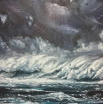 Winter Atlantic  by Keran Sunaski Gilmore