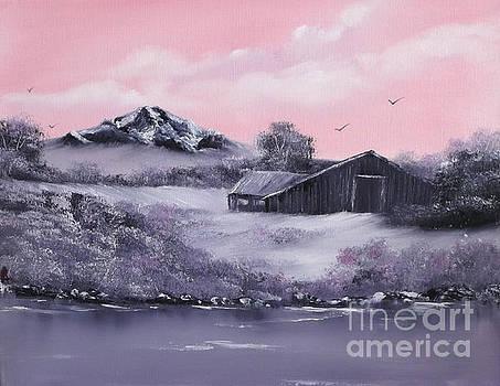 Winter Barns by Cynthia Adams