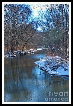 Winter Bend by Marcel  J Goetz  Sr