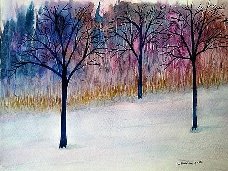 Winter Blues by B Kathleen Fannin