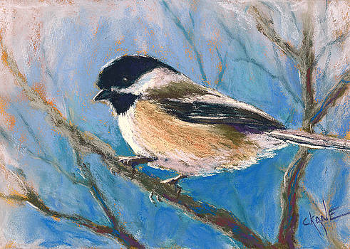 Winter Chickadee by Christine Camp