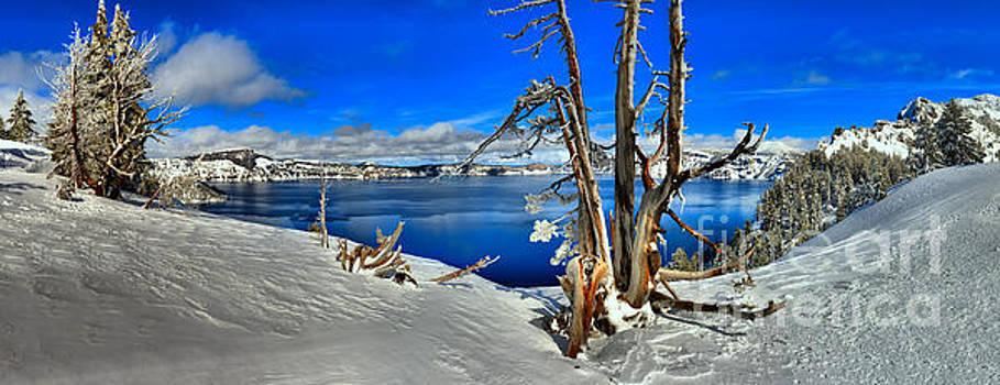 Adam Jewell - Winter Crater Lake Panorama