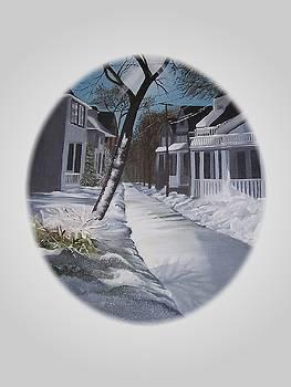 Winter Day by Kathleen Romana