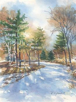 Winter Departs by Kerry Kupferschmidt