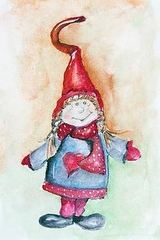 Winter doll toy by Aleksandr Volkov