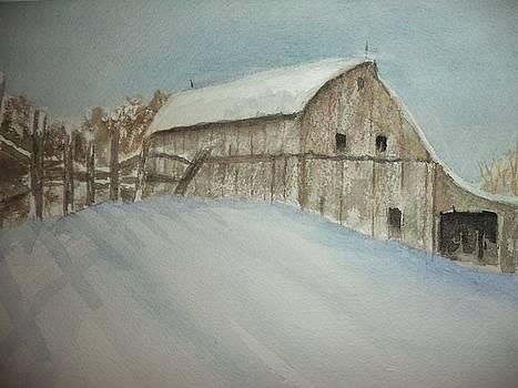 Winter Farm by Constance Larimer
