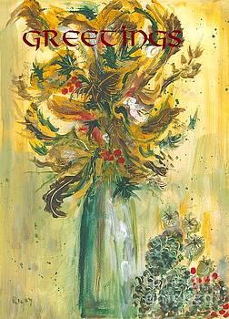 Winter Flowers 2 by Veronica Rickard