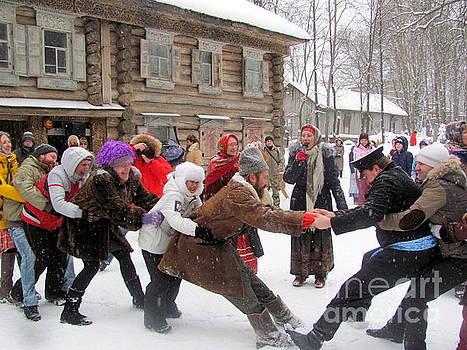 Winter fun in Russia by Irina Hays