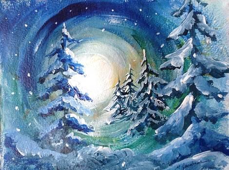 Winter Glow by Marilyn Jacobson