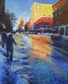 Winter Glow by Peter Salwen