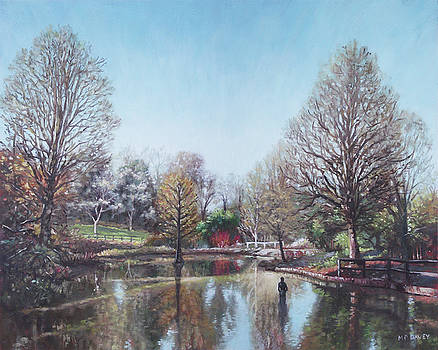 Winter Hilliers Garden Hampshire by Martin Davey