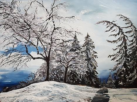 Winter III by Kateryna Kurylo