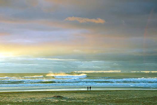 Daniel Furon - Winter Sunset in San Francisco