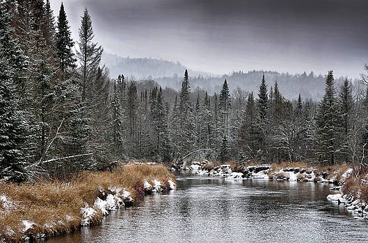 Winter in the Adirondack Mountains - New York by Brendan Reals