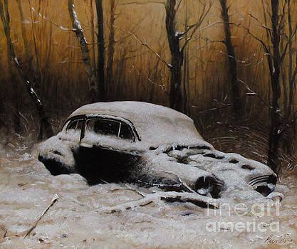 Winter In The Wood by Larry Preston