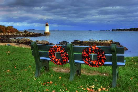 Winter Island Lighthouse by Joann Vitali
