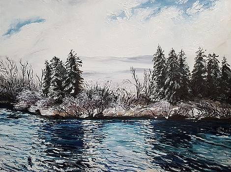Winter IV by Kateryna Kurylo