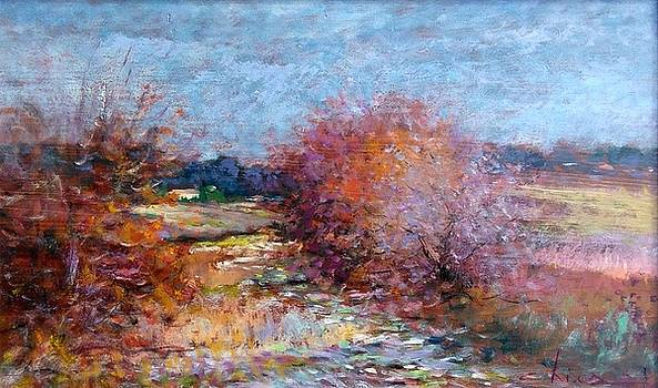 Winter landscape - Toscana by Biagio Chiesi