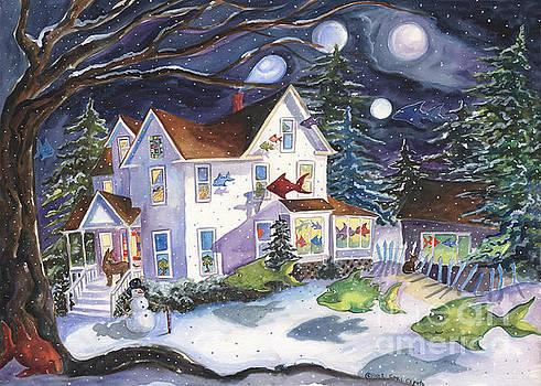 Winter Magic on High Street by Cori Caputo