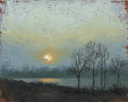 Winter Mist by Timothy Jones