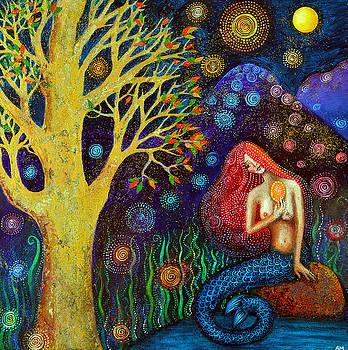 Winter Moon Mermaid by Alice Mason