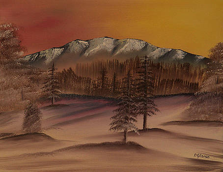 Winter Mountain by Dean Glorso