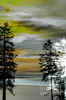 Winter Ocean by Elaine Hunter