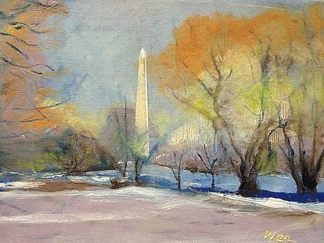 Winter of Washington D.C. by Wen LePore